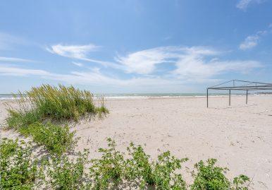 Пляж базы отдыха «Аркадия Gold»
